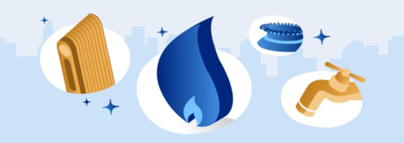 Gas renovable para la reforma del hogar